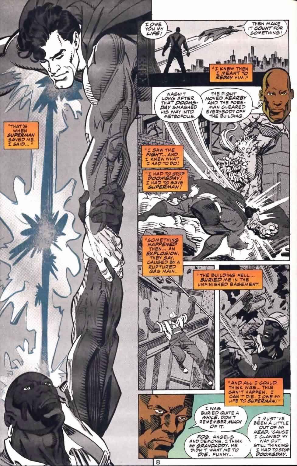 Man of Steel #22 (Written by Louise Simonson, Pencils by Jon Bogdanove)