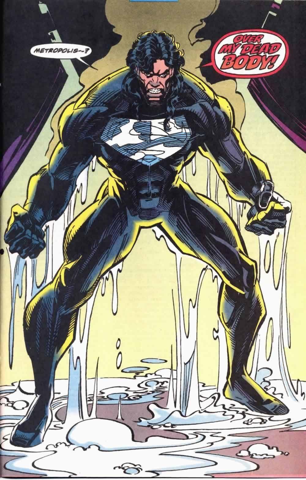 Man of Steel #25 (Written by Louise Simonson, Pencils by Jon Bogdanove)
