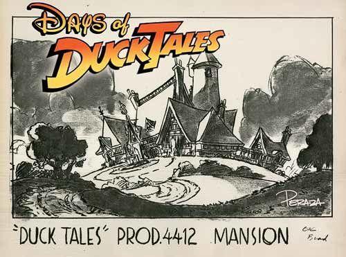 DucktTales mansion