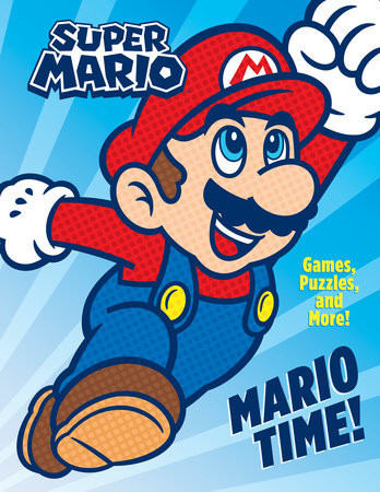 Children's Book Cover- Mario Time!