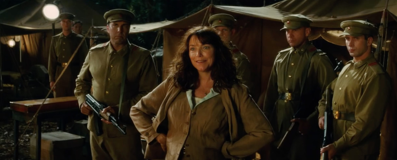 Indiana Jones and the Kingdom of the Crystal Skull- Karen Allen as Marion Ravenwood