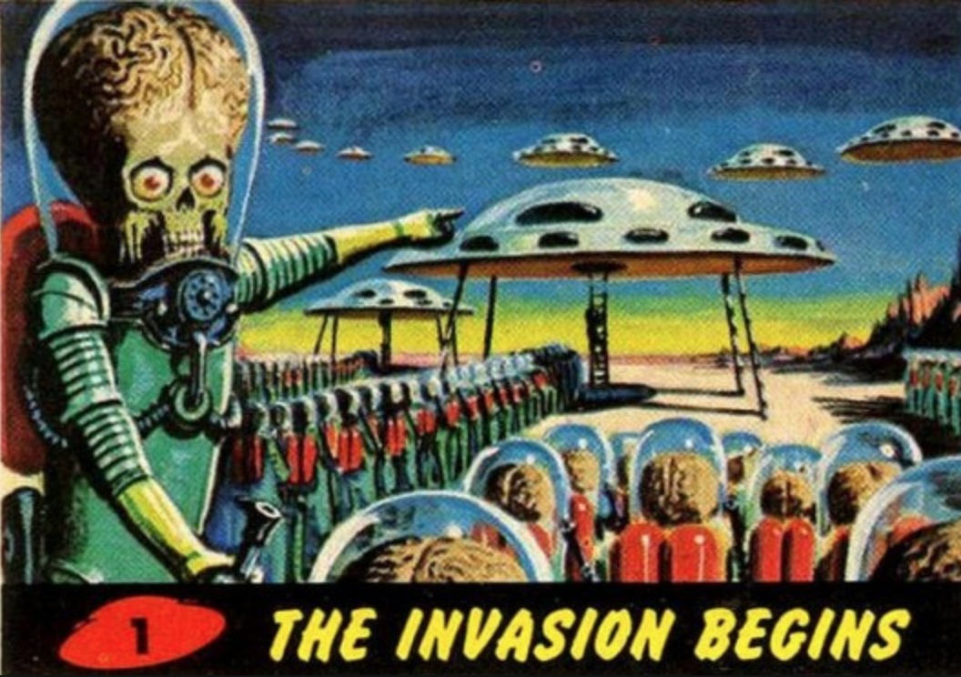 mars attacks card