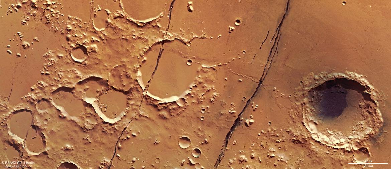 Bad Astronomy | Mars is cracked!