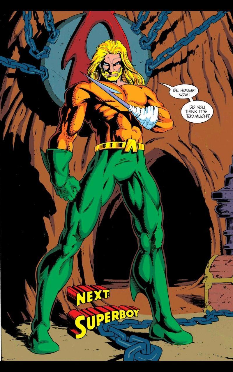 Aquaman Marty Egland H. Shum