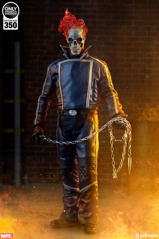 sideshow collectibles classic ghost rider