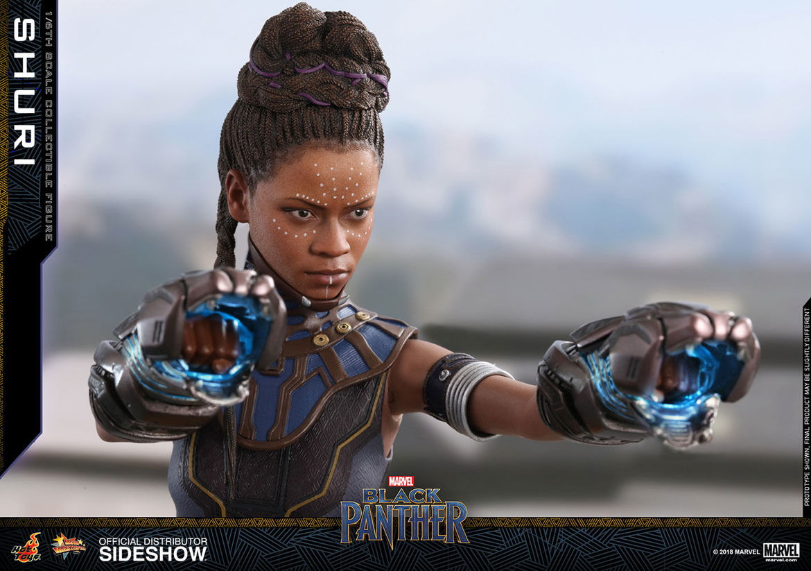 marvel black panther shuri hot toys