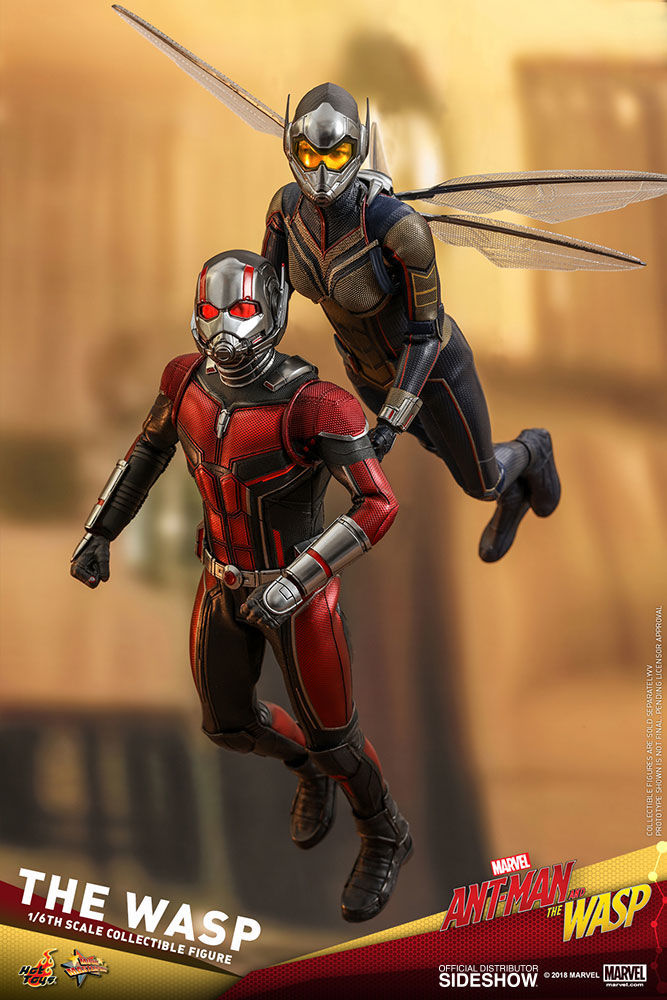 hot toys ant-man and the wasp figures