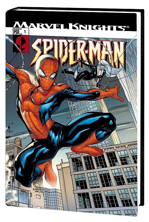 Marvel Knights Spider-Man Vol 1 Cover