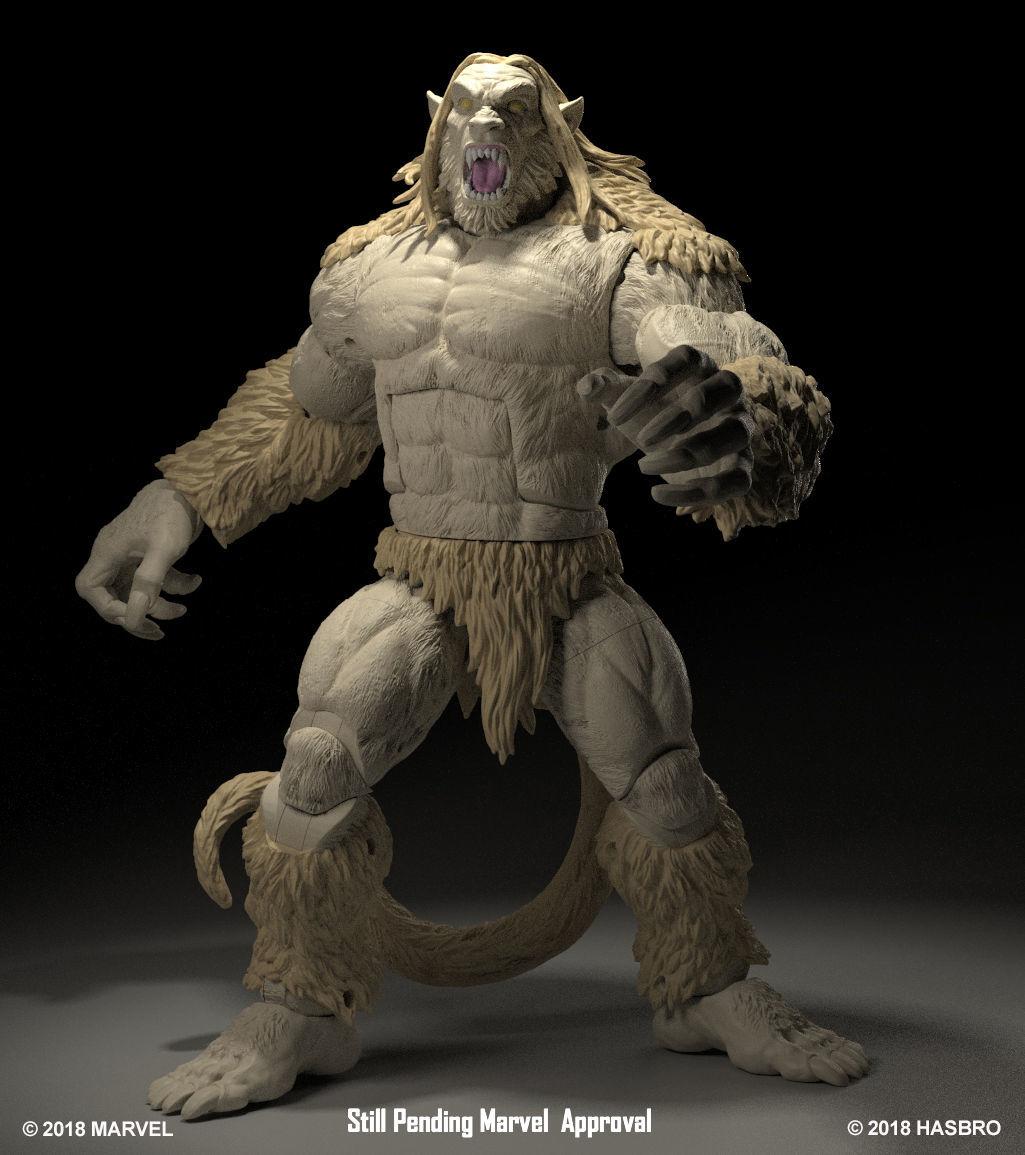 Marvel Legends Wendigo (Build-A-Figure)