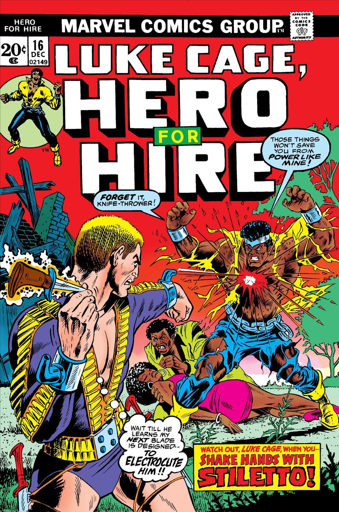 Marvel Luke Cage, Hero for Hire 1972