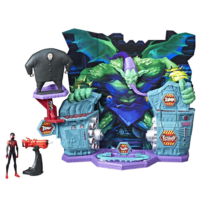 MARVEL SPIDER-MAN INTO THE SPIDER-VERSE SUPER COLLIDER Playset - oop