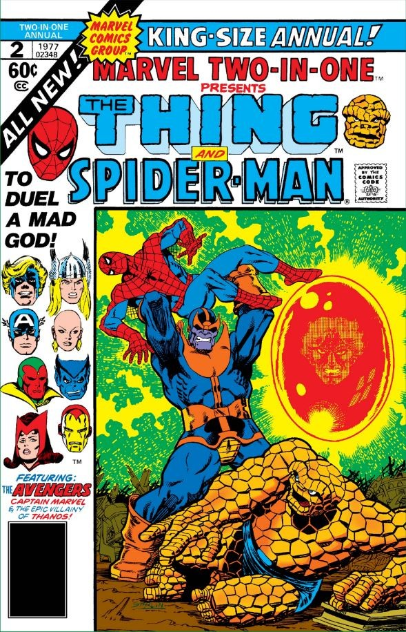 Cover of Marvel Two-in-One Annual #2
