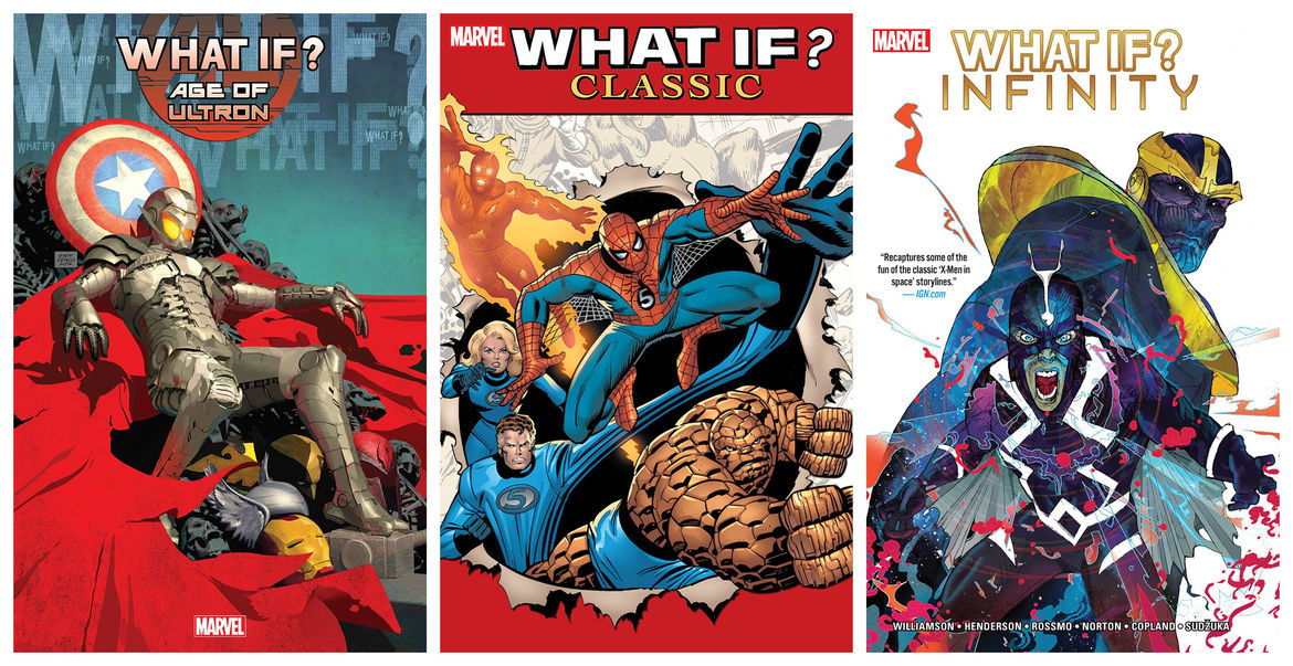 Marvel What If covers
