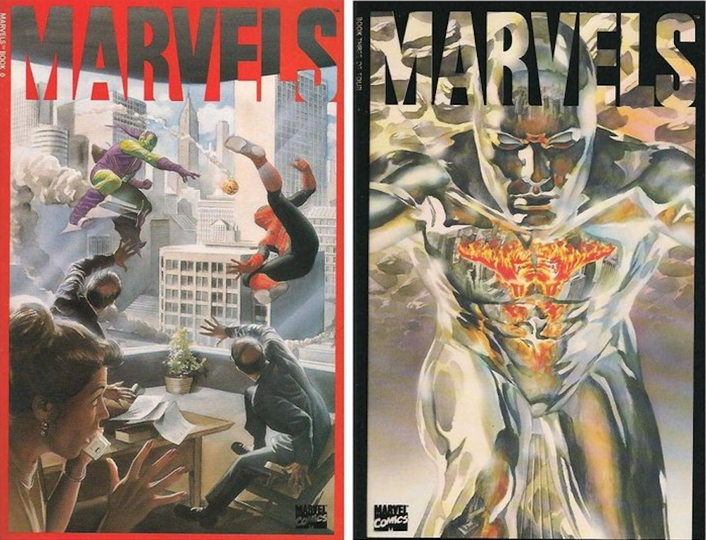 Marvels Covers 1-2