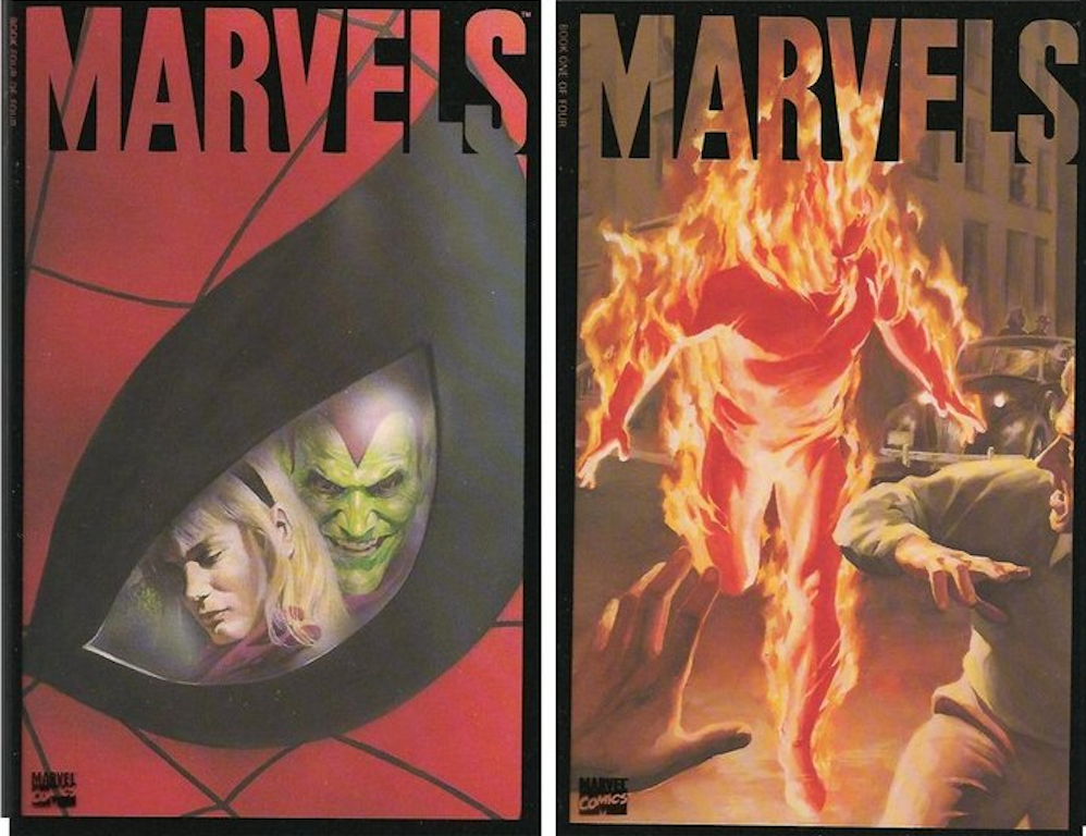 Marvels Covers 3-4