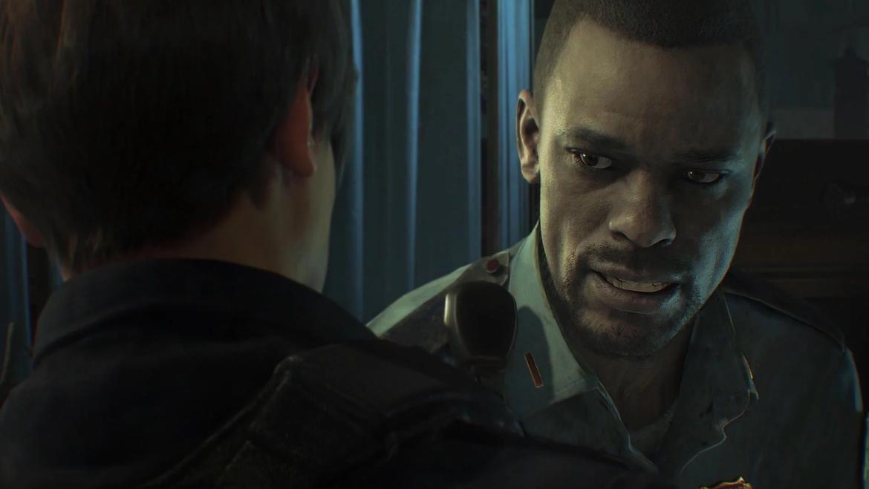 Resident Evil 2 Remake - Marvin and Leon
