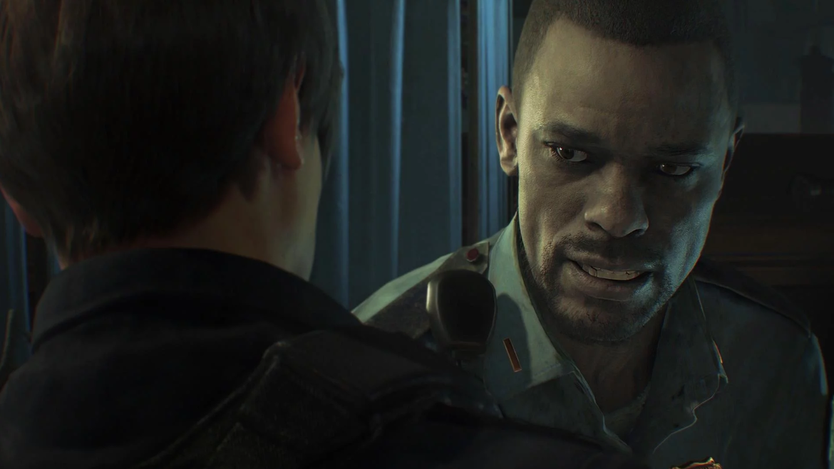 Resident Evil 2 Remake - Marvin and Leon