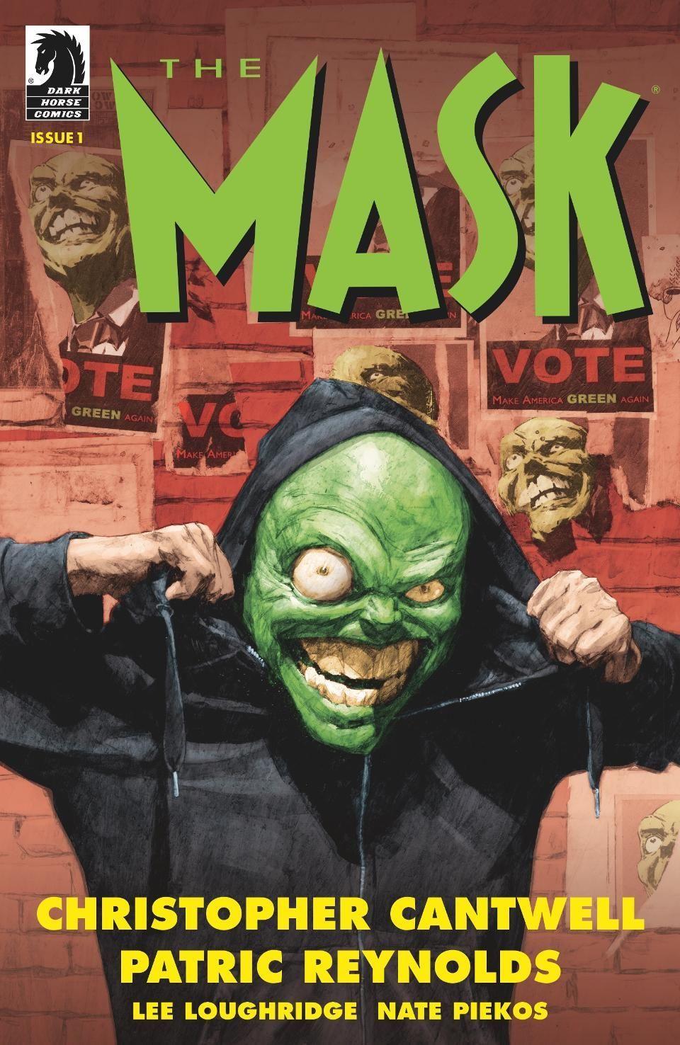 The Mask: Sneak peek at Dark Horse Comics' revival
