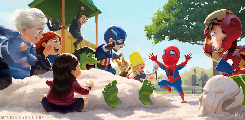 Mauricio Abril, Spider-Man's return