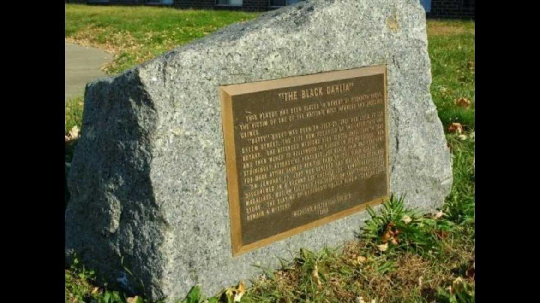 Black Dahlia Memorial