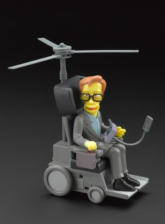 playmates the simpsons stephen hawking figure