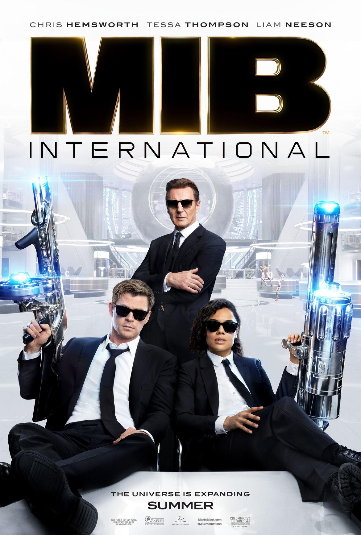 Men in Black: International poster