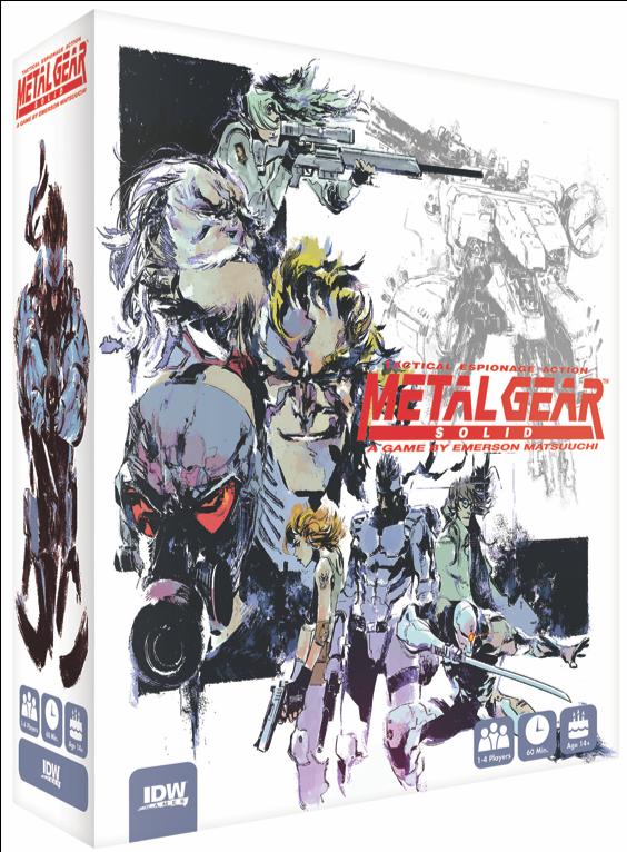 Metal Gear Board Game 2018