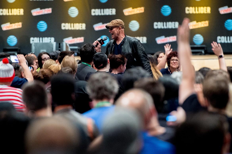 Michael Rooker, New York Comic Con 2017