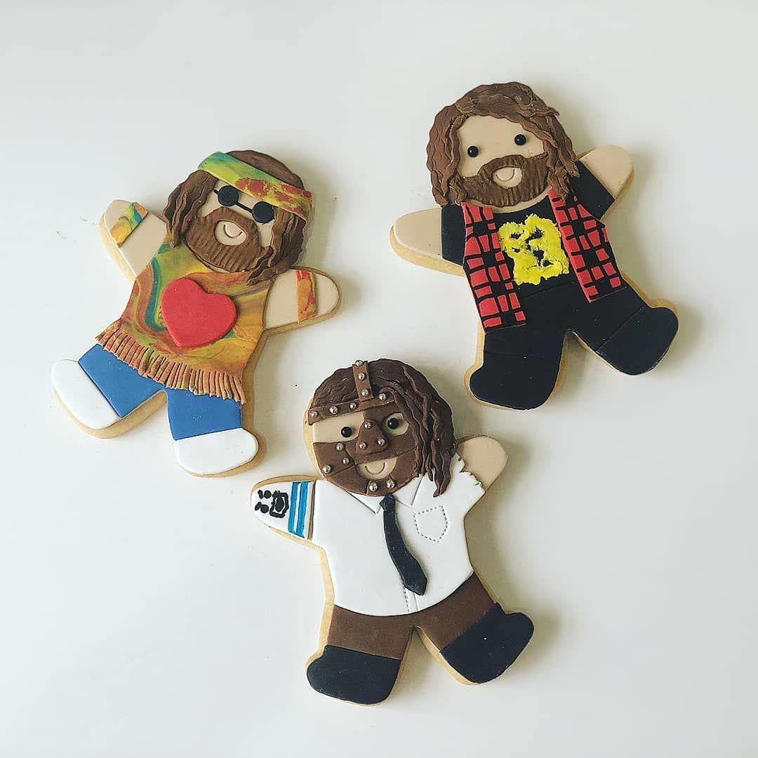 mick foley cookies Marj Santaromana
