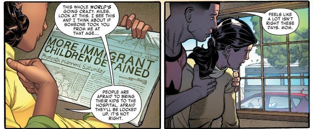 Miles Morales: Spider-Man #1 (Written by Saladin Ahmed, Art by Javier Garron)