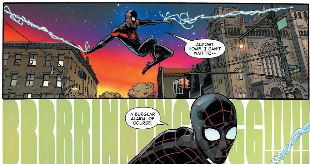 Miles Morales: Spider-Man (Written by Saladin Ahmed, Art by Javier Garron)