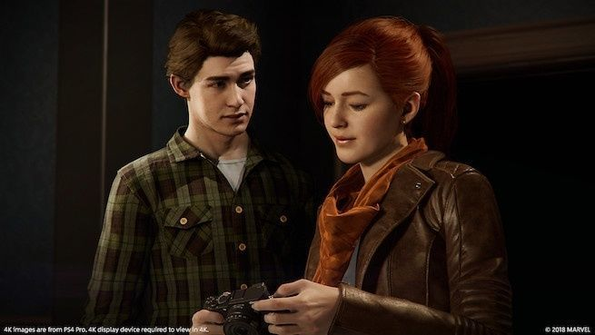 Marvel's Spider-Man: Mary Jane and Peter