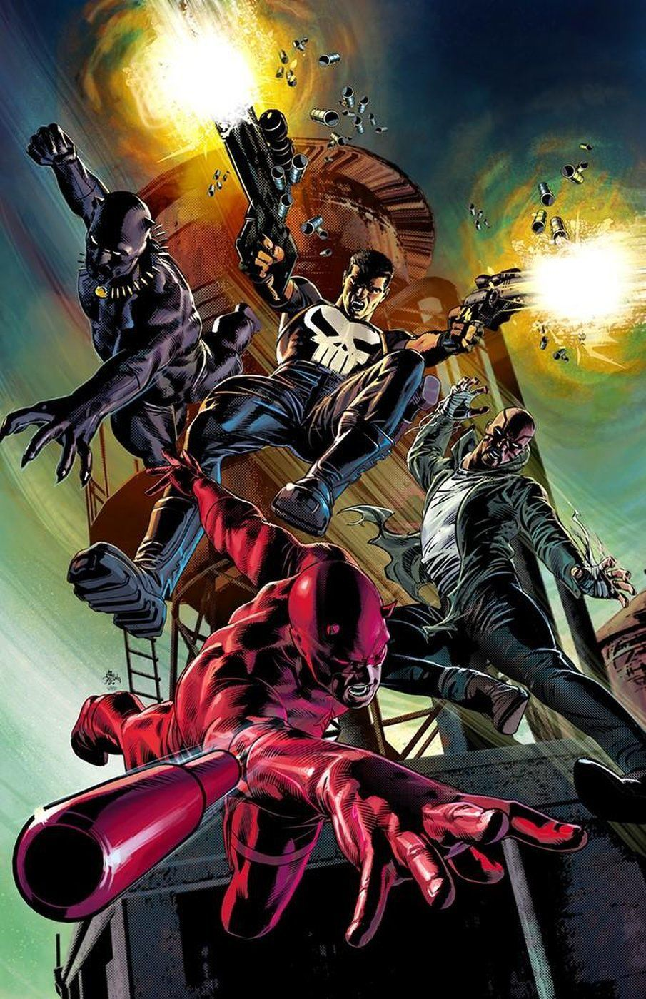 MK20 Marvel Knights Mike Deodato
