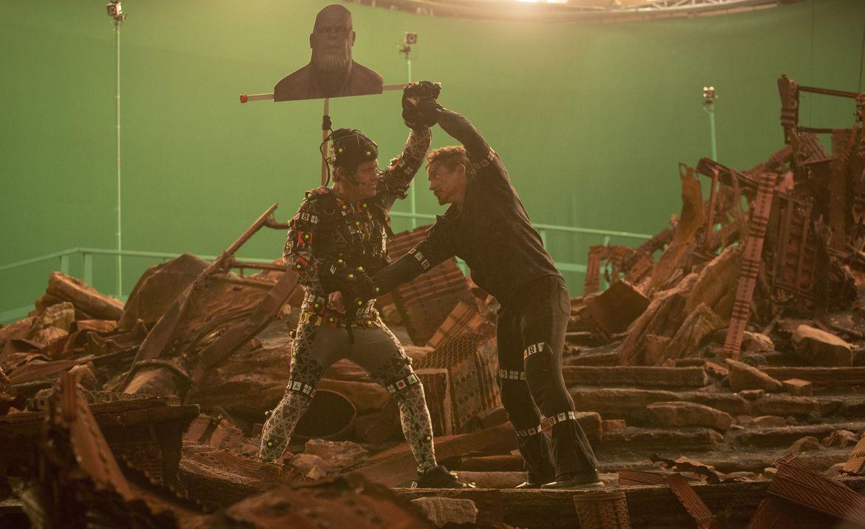 Avengers: Infinity War, VFX — Thanos and Tony Stark