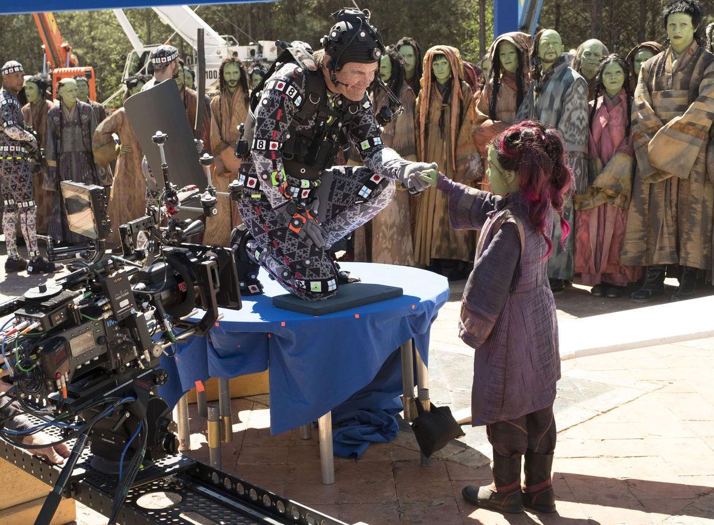 Avengers: Infinity War, VFX — Thanos/Josh Brolin and Young Gamora