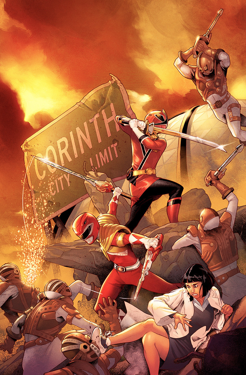 Cover of Mighty Morphin' Power Rangers issue 27