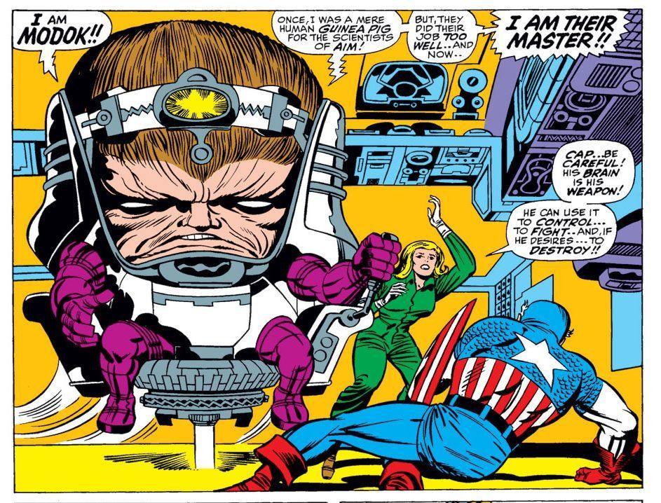 MODOK first appearance in Tales of Suspense #94