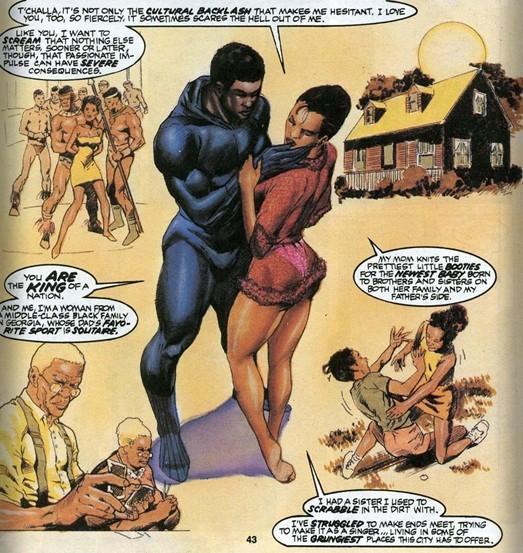 Black Panther Monica Lynne
