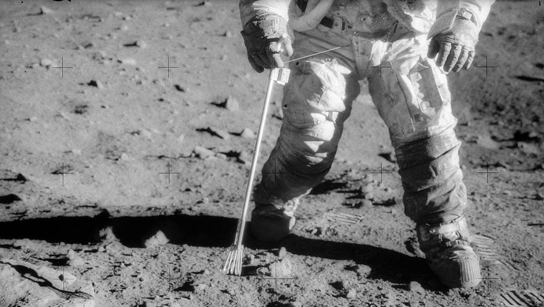 NASA Apollo 12 moon landing