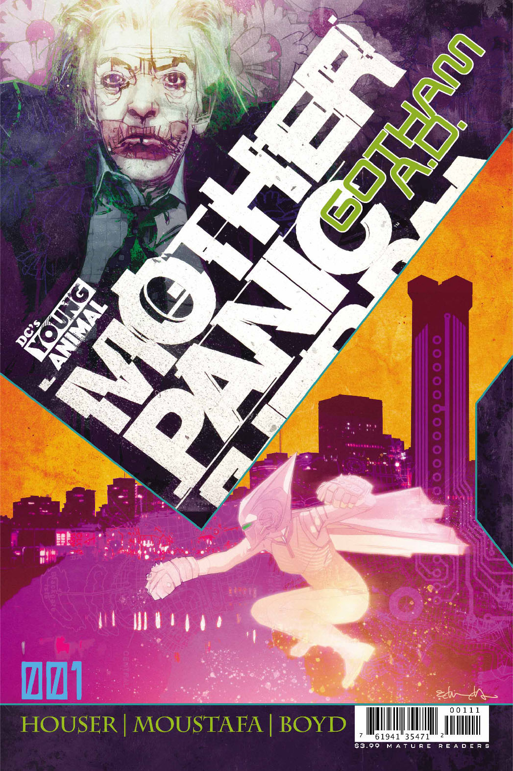Mother Panic Gotham AD #1 Cover