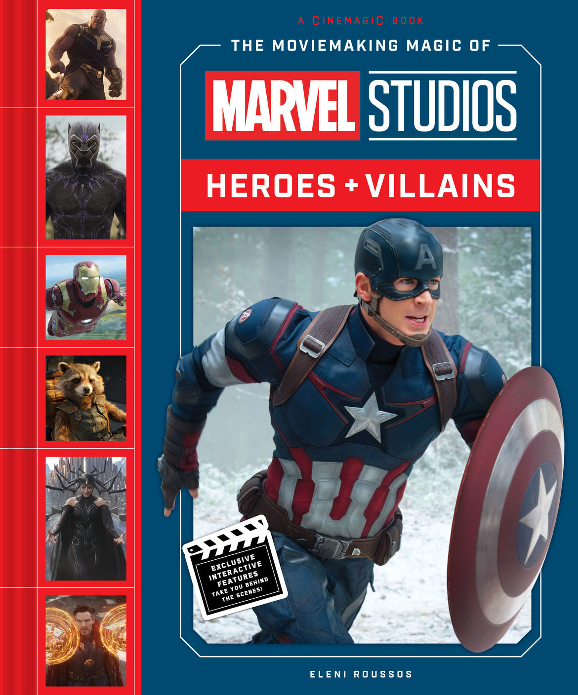 The Moviemaking Magic of Marvel Studios: Heroes & Villains front cover