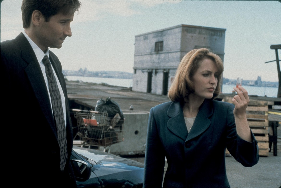 The X-Files episode 2Shy - Mulder and Scully