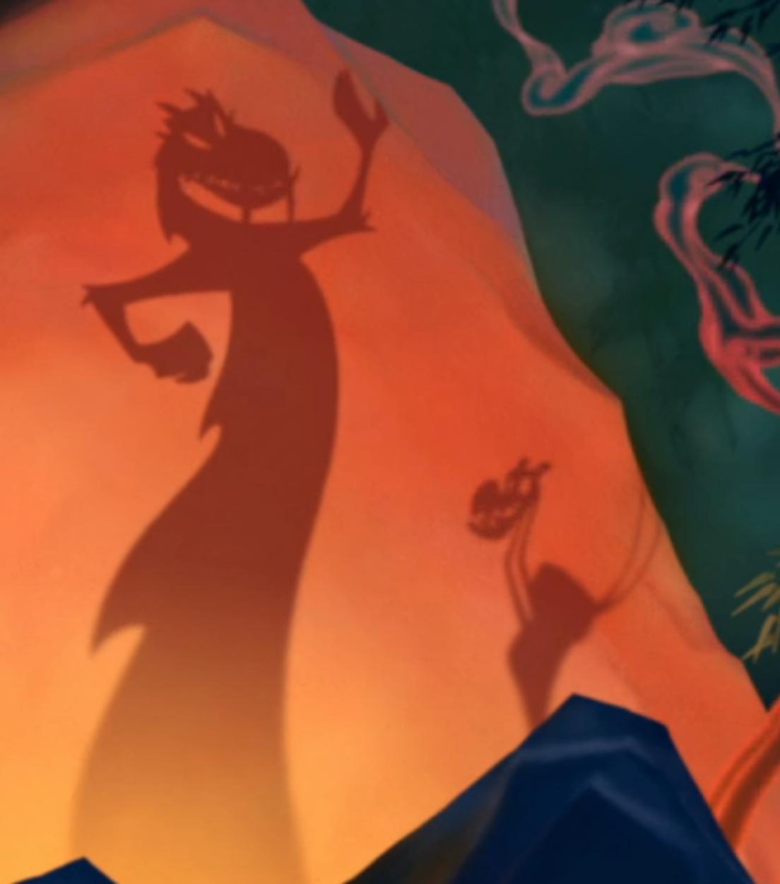Mulan, Mushu and Crikee