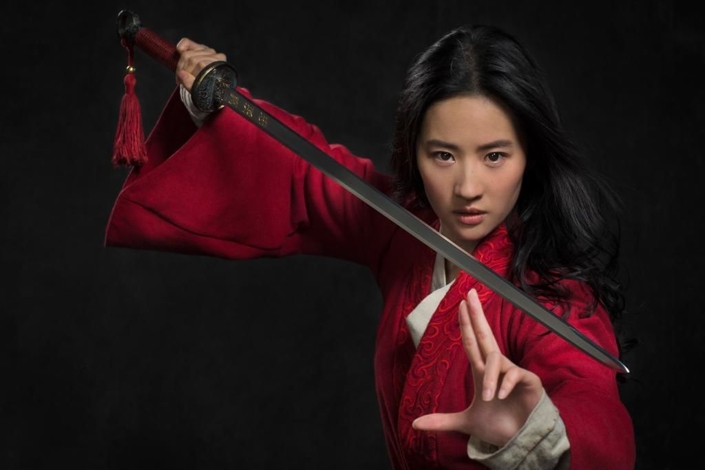 Here's the first-look image from Disney's live-action adaptation of 'Mulan'