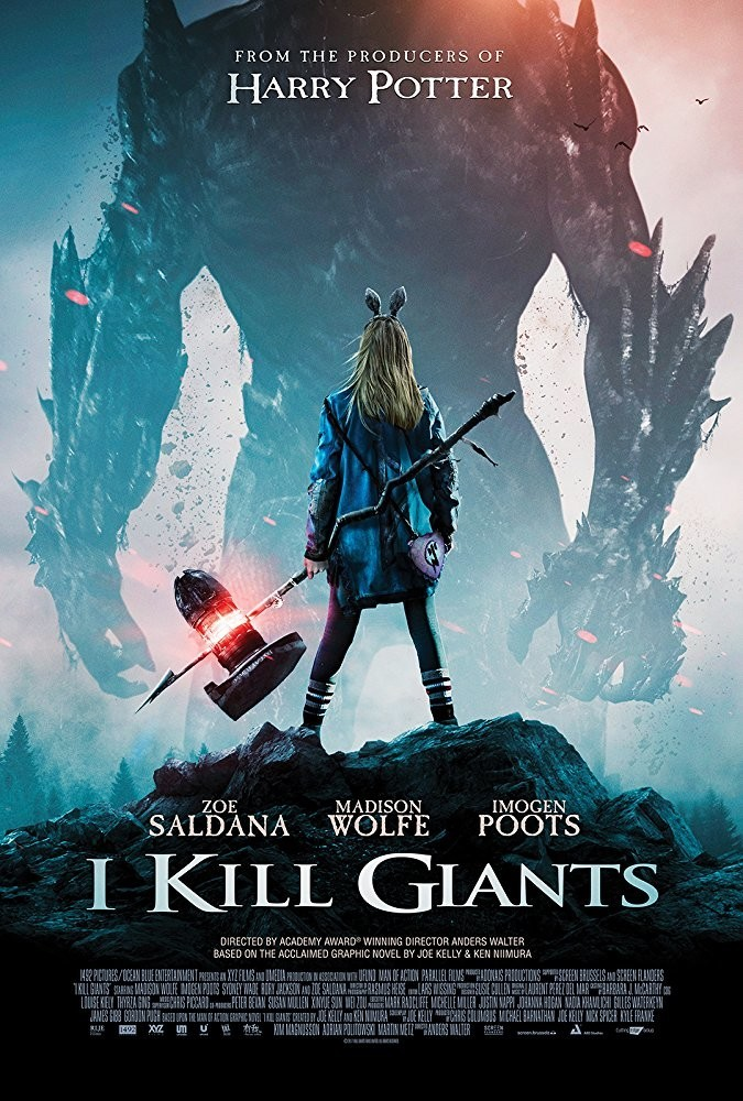 I Kill Giants, movie poster