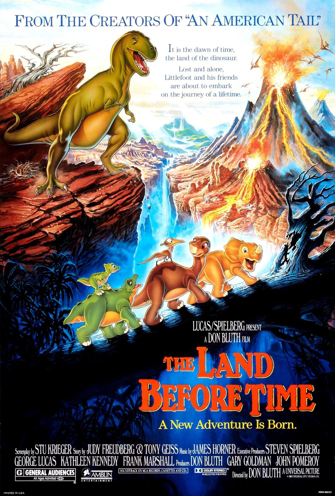 The Land Before Time, poster