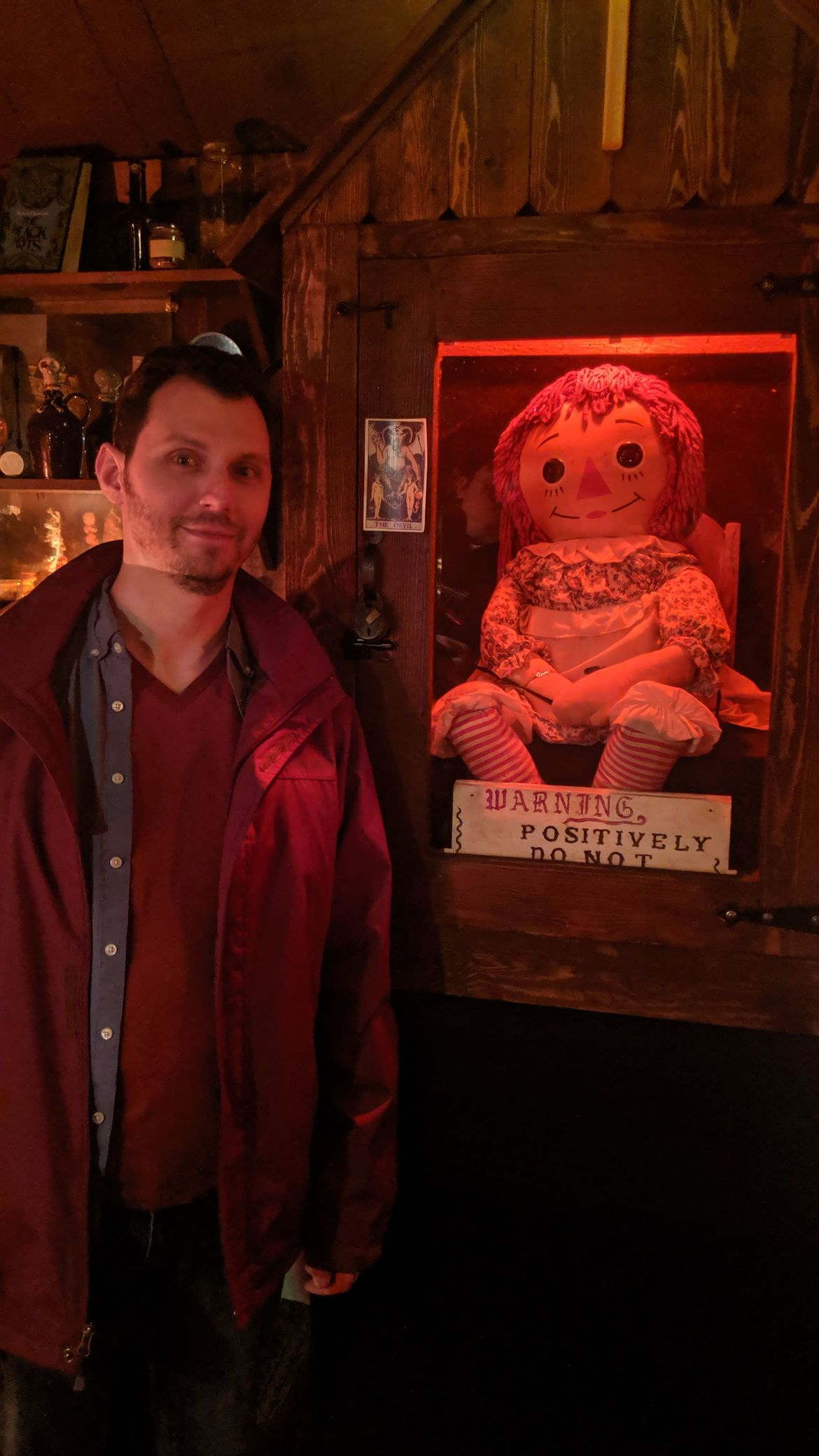 The Real Annabelle doll, straight from Ed and Lorraine Warren's