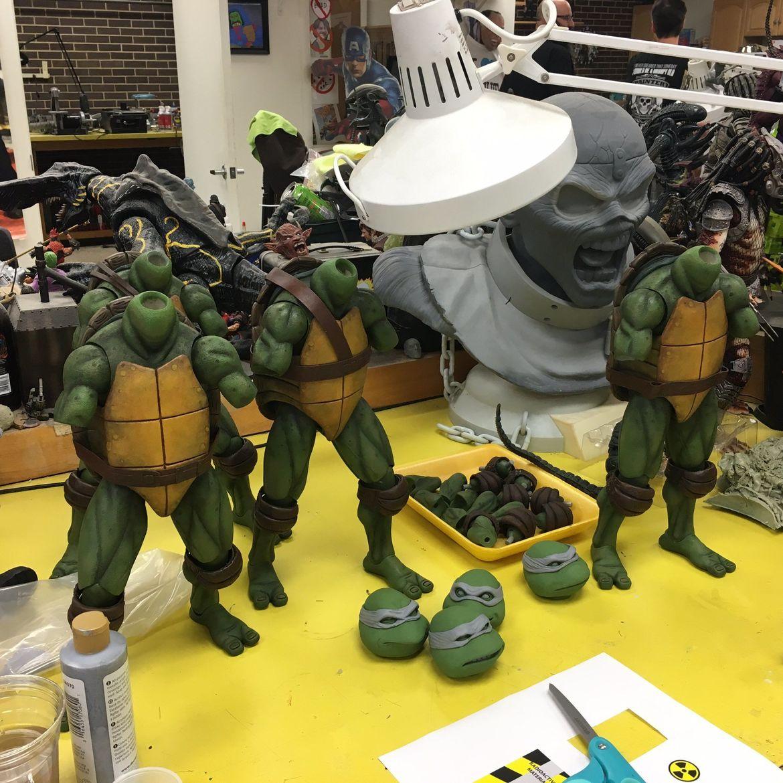 Making Necas Teenage Mutant Ninja Turtles Syfy Wire