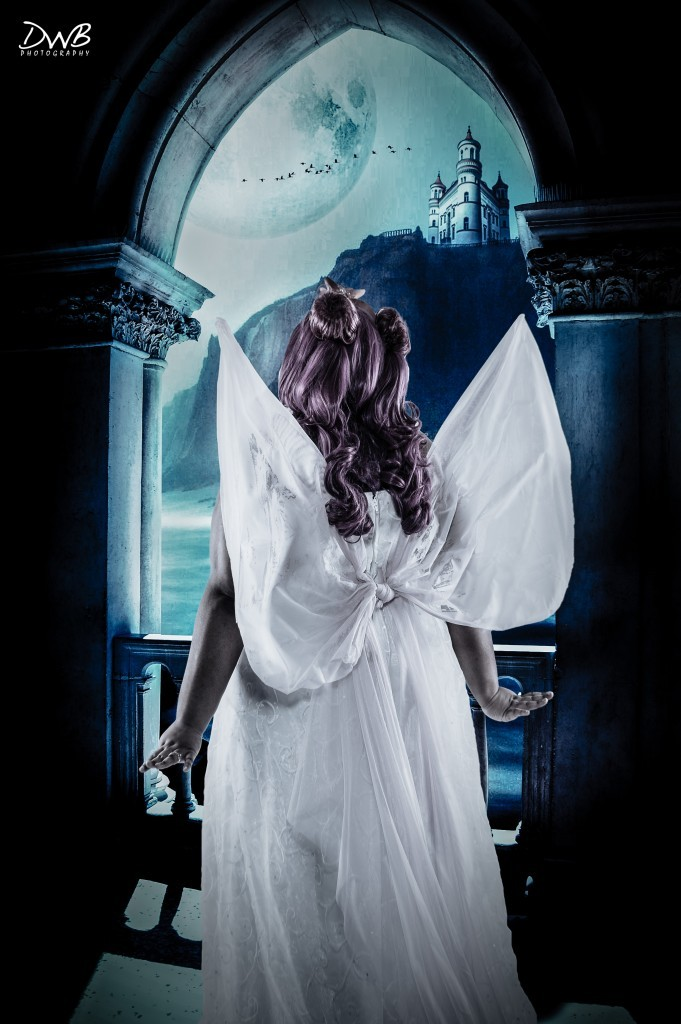 black cosplay neo queen serenity