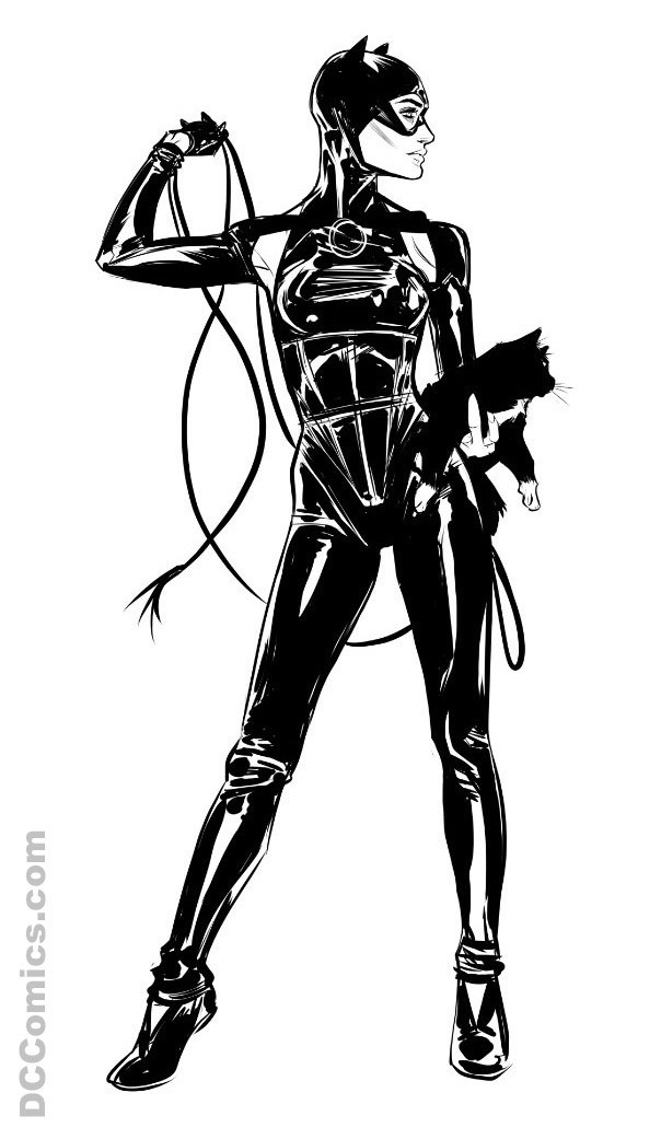DC- New Catwoman costume 1